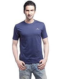 Crosscreek Casual Dress Blue Solid T-Shirt - 910010