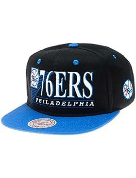 Mitchell & Ness–Gorra de Philadelphia 76ers–Vintage Logo NBA Tapa