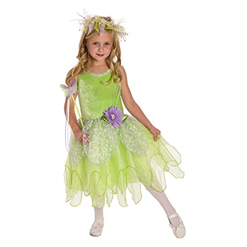 Little Adventures Tinkerbell Fairy Girls costume – large (5 – 7 anni)