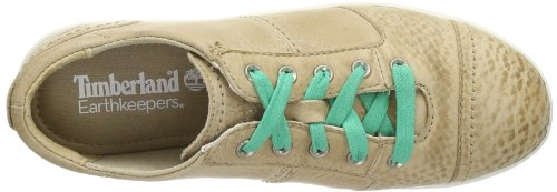 Timberland, EK Northport Leather Ox, Scarpe sportive, Donna Light Tan