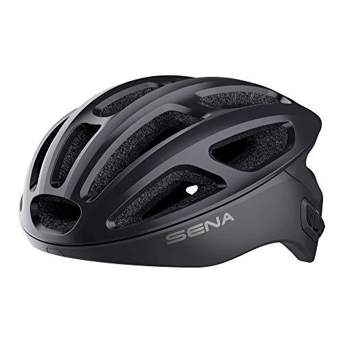 Sena R1-STD Casque de vélo connecté Unisex-Adult, Onyx Noir, M