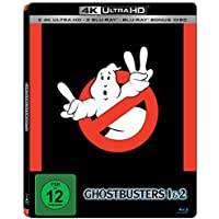 Ghostbusters & Ghostbusters 2 5 Disc Set SteelBook Edition