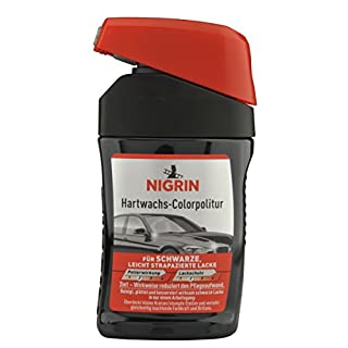 Nigrin 72944 Hartwachs-Colorpolitur Hard Wax Polish Black 300 ml