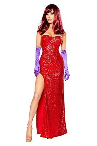 Rabbits Lover (Jessica Rabbit) Women's Costume - X-Large