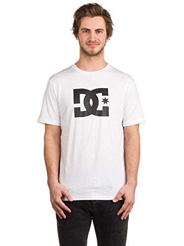 DC Apparel Herren Ss Star-T-Shirt, Schwarz, XS Bright White/Solid