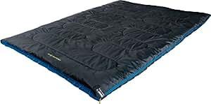 High Peak Ceduna - Sacco a pelo, 200 x 150 cm, colore: grigio scuro/blu