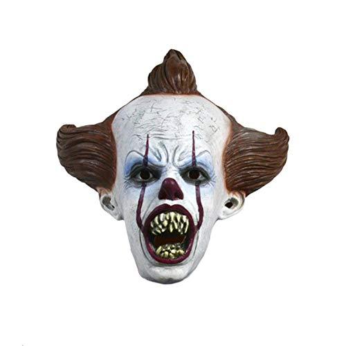 Kostüm Spuk Alten - Pictury Gruselige Clown Maske Cosplay Latex Maske Gruselige Halloween Gesichtsmaske für Erwachsene Supple