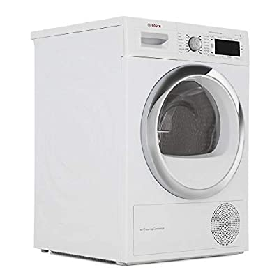Bosch WTW87561GB Freestanding A++ Rated Condenser Tumble Dryer in White