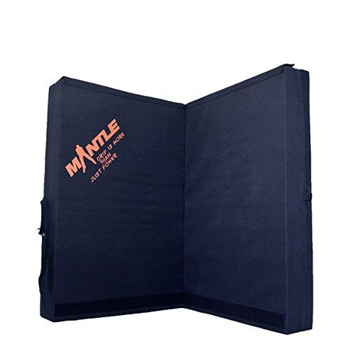 Mantle Fallschutzmatte Crash Pad, Schwarz, XXL, 7003