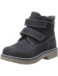 Bubblegummers Boys Double Velcro Suede Desert Boots
