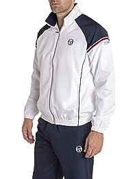 4470825cda1 Sergio Tacchini - Ensemble survêtements IREO Blanc et Bleu Marine Sport  Classe