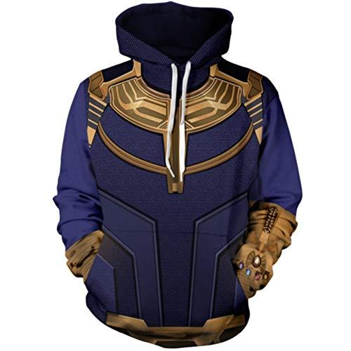 AAVJBD Cosplay Krieg 3D Print Hoodie Sweater