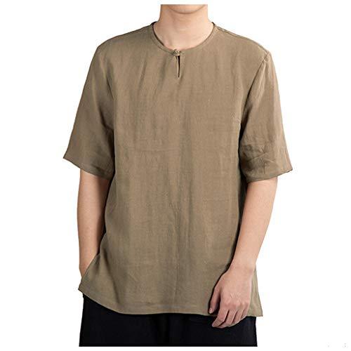 85dfe0656e2cf8 Selou Magliette da Uomo Tinta Unita in Tinta Unita, Magliette Sportive da  Uomo in Cotone
