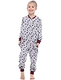 8c0667d278c4c Merry Style Combinaison Pyjama Grenouillère Manche Longue Pantalon Vêtement  d Intérieur Fille ...