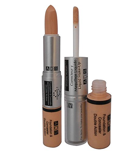 Ads Foundation And Concealer Double Action