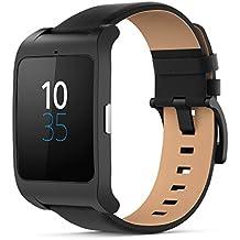 Sony SmartWatch 3 - Reloj para seguimiento de actividad y ejercicio compatible con smartphones Android, color negro
