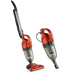 VonHaus Stick Vacuum Cleaner 600W Corded – 2 in 1 Upright & Handheld Vac with Lightweight Design, HEPA Filtration, Crevice Tool & Upholstery Brush