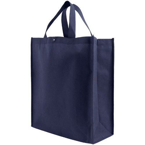 Reusable Grocery Tote Bag Large - Navy Blue by Simply Green Solutions -