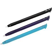 Hama Touchscreen Eingabestifte Stylus Pen für Nintendo New 3DS XL, 3 Stück