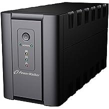 BlueWalker PowerWalker VI 1200 - Fuente de alimentación continua (UPS) (1200VA/600W, 2x7 Ah) Negro
