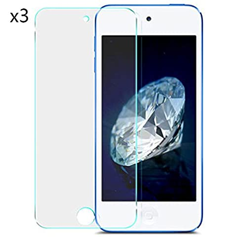 Zhhlaixing Film en verre trempé Pack of 3 Premium Quality Explosion-proof Tempered Glass Film pour iPod Touch 5 & Touch 6