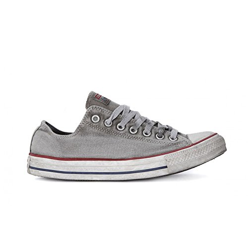 Converse Scarpe Unisex Chuck Taylor all Star Basic Wash Ltd - Grigio, 37
