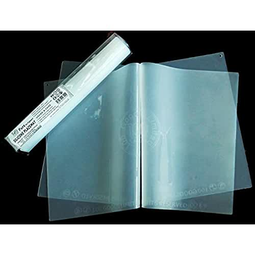 dia del orgullo friki 100 Goods 100% de una sola pieza de Alimentos calificó pigmento silicona Cero Todo tipo de clima Placemat , 11.4 x 16.1 x 0.03, Conjunto de 2 transparente