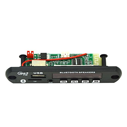 Hrph Bluetooth inalámbrico 12V MP3 WMA Decodificador Junta Audio Módulo TF USB...