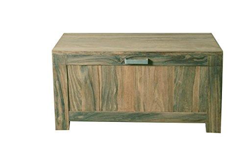 Quadrato - Truhe / Kiste INDO, Holz Sheesham natur, Maße: B 80 x H 40 x T 40 cm