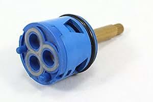 Inverseur 3 Voies avec pomme de douche de débit pour robinet d'intérieur-Bleu-poussoir