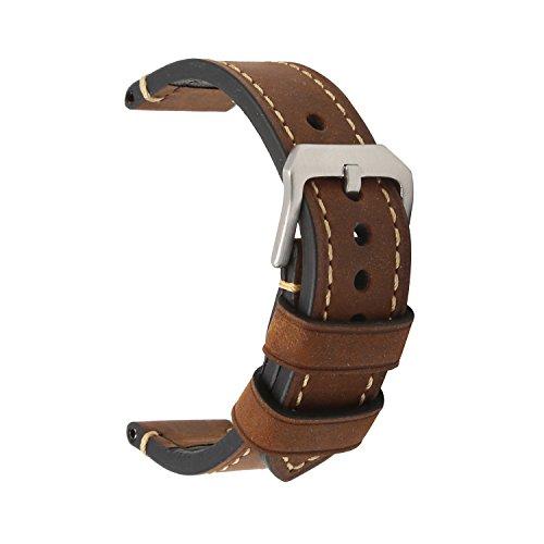 omyzamr-bracelet-montre-cuir-montre-petite-boucle-en-acier-inoxydable-marron-sangle-22mm