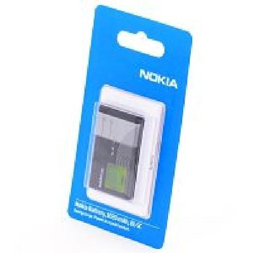 Preisvergleich Produktbild Nokia Akku Li-Ion, 970 mAh BL-5C für E50, E60, N-Gage, N70, N71, N72, N91, 1100, 1101, 1110, 1112, 1200, 1208, 1209, 1600, 1650, 1680, 2310i, 2330 classic, 2323, 2600, 2610, 2626, 310