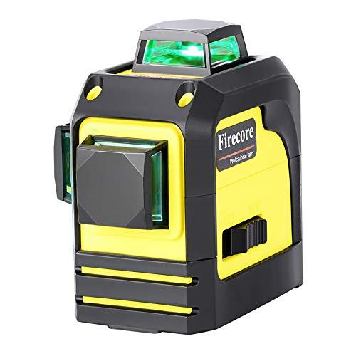 Firecore F93TG professional 3D Grün Line Laser Level selbstjustierend 3x360 horizontale und vertikale Laserlinien