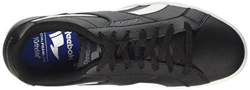 Reebok Herren Royal Complete 2ll Sneaker Schwarz (Black/white/alloy)