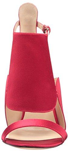 Nine West Denita Satin Talons red