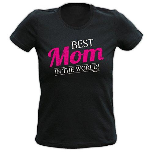 Goodman Design® Farbe: schwarz BEST Mom IN THE WORLD! Schwarz