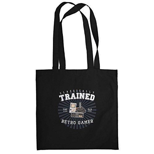 Texlab–Classically Trained–sacchetto di stoffa Nero
