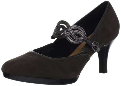 Clarks Artisan Tempt Allure Platform Pump Pewter