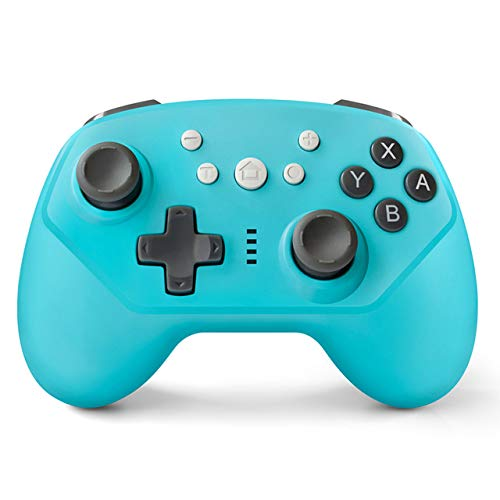 YTGOOD Controller Switch, Controller für Nintendo Switch, Controller Pro Switch, kabellos, mit Bluetooth/Turbo/6 Achsen/Dual Motor für Nintendo Switch Pro
