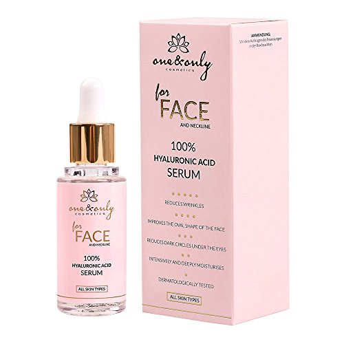 One&Only for Face&Neckline, Sérum 30 ml (100% HYALURONIC ACID SERUM)
