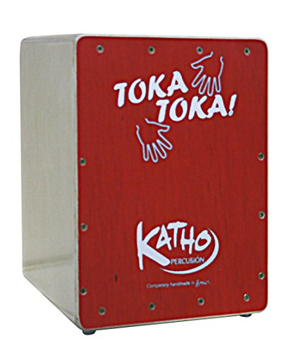 Katho Percusion kt31-ro Kid 's Box Drum Mini, Rot -