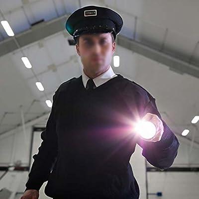 Canwelum Ultrahelle 1.200lm Zoom CREE T6 LED-Taschenlampe, Leistungsstarke CREE LED-Taschenlampe mit Intelligente Schwanz Button Switch