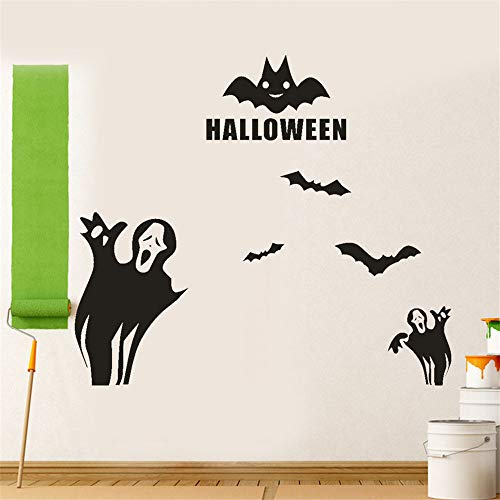 Zfkdsd Happy Halloween Fledermäuse Wandaufkleber Fenster Dekoration 2017 Neue Diy Wandaufkleber Dekoration Aufkleber Wandaufkleber