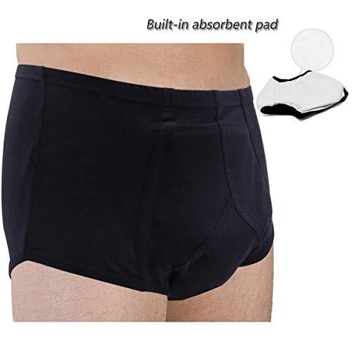 Sockspark Inkontinenzhose Herren Saugfähig Wiederverwendbares Unterwäsche (L) - Männer Für Inkontinenz-unterwäsche