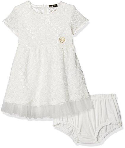Kleid Ss, Bianco (True White A000), 86 cm (White Kinder-kleider)