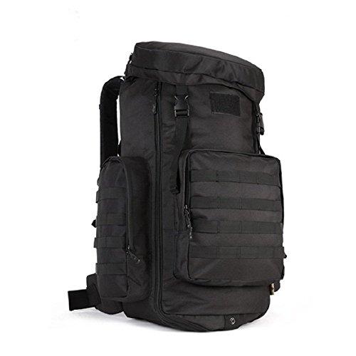 Herren Tactical größ Sprotrucksack Laptoprucksack Trekkingrucksack Fahrradrucksack 70L/85L Freizeit Rucksack Tasche 3D verschiedene Farben