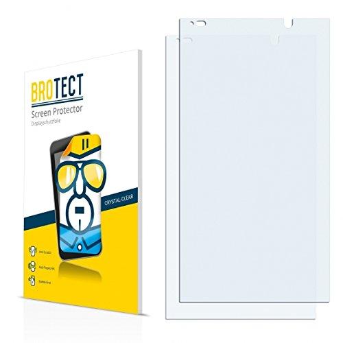 2X BROTECT HD Clear Bildschirmschutz Schutzfolie für HP Slate 6 VoiceTab II (kristallklar, extrem Kratzfest, schmutzabweisend)
