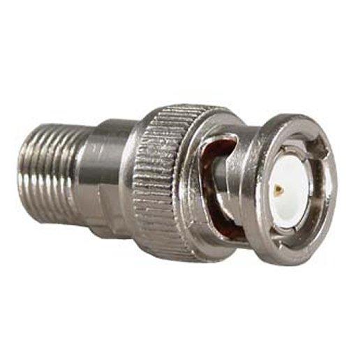 Bnc-twist (Videoüberwachung CCTV F Stecker Twist on auf Koaxialkabel Kabel Buchse Zum BNC Männlich Stecker Adapter)