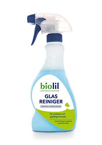 biolil bio Glas Reiniger Einfach Streifenfrei 3 x 500 ml