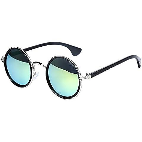 OUTEYE Gafas del Sol Sport UV400 Retro Vintage Viaje Mujer